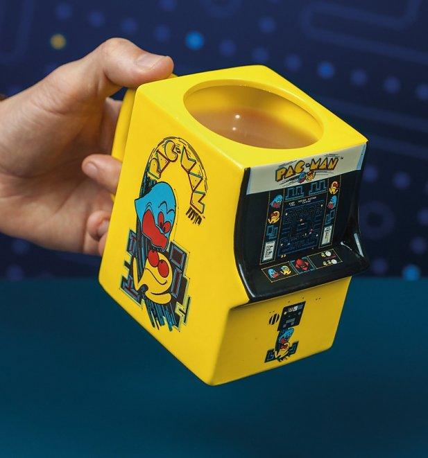 Pac-Man 3D Shaped Mug - Truffle Shuffle
