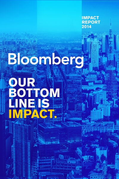 Bloomberg Impact Report 2014 About This Report