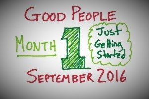 Good People Month 1