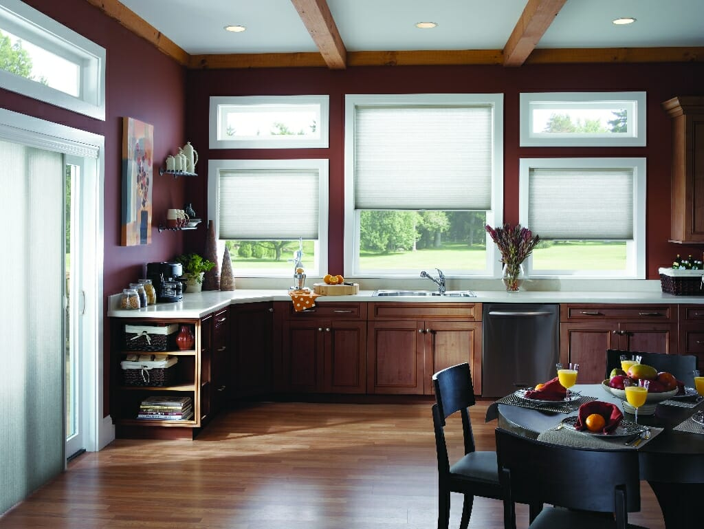 Kitchen  3 Blind Mice Window Coverings