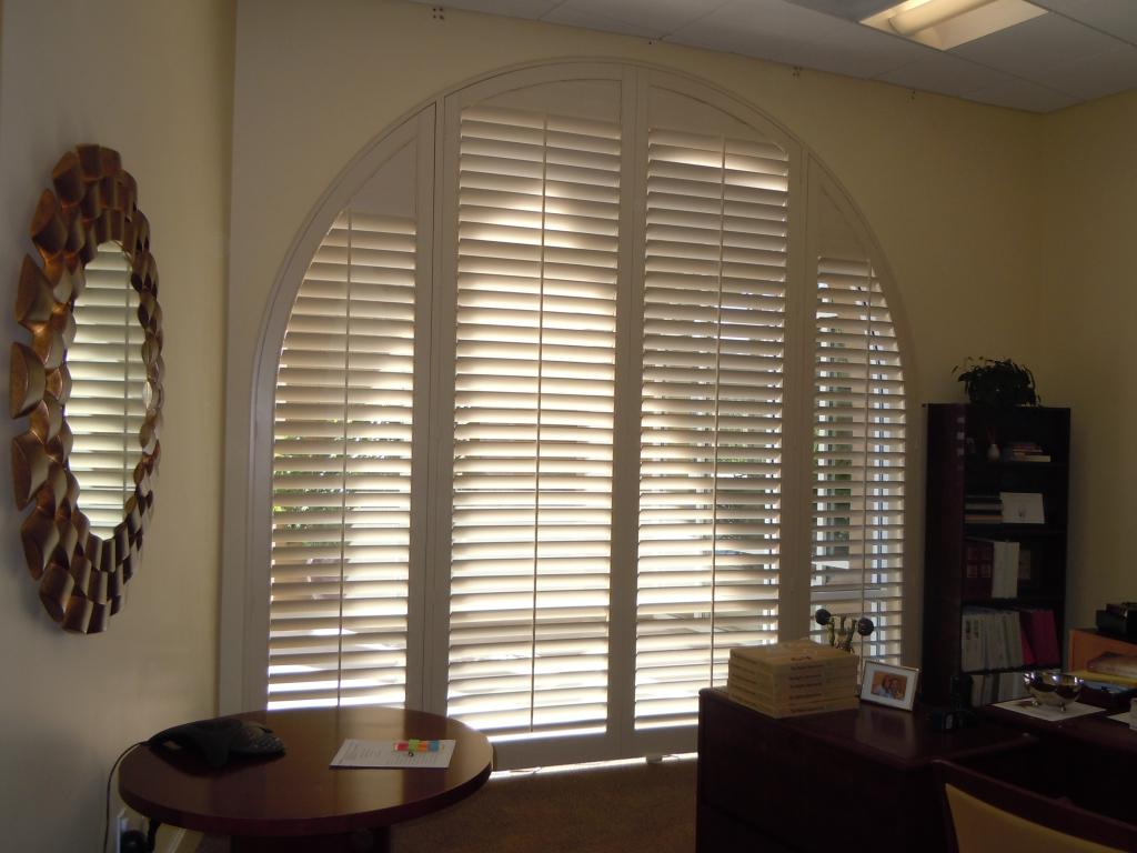 Half Circle Window Treatment Ideas