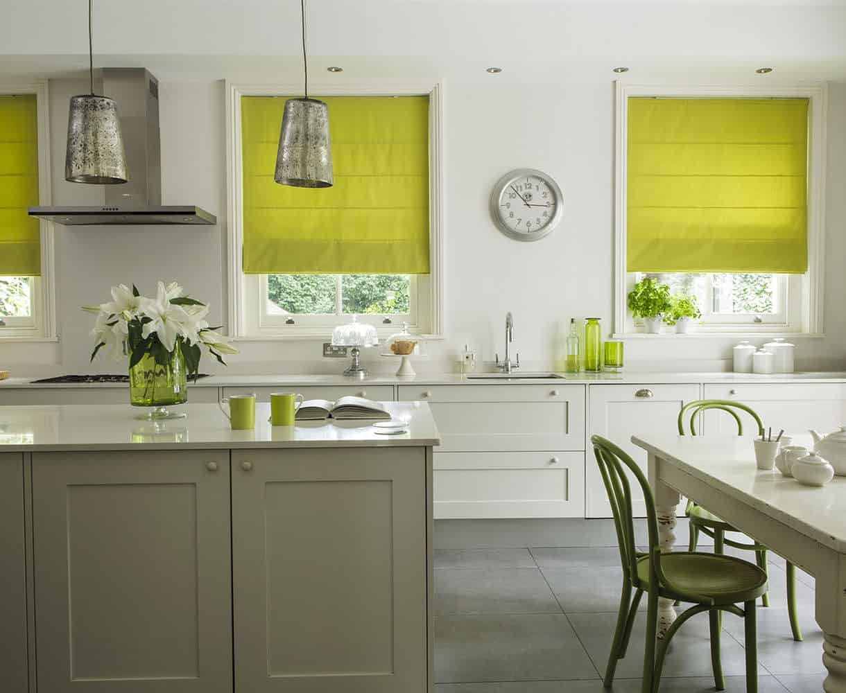 kitchen blinds booster seat 3 nice personalise your with milano lime roman