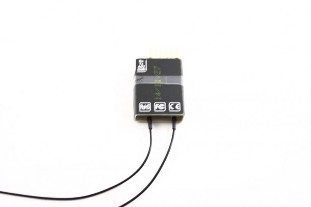 FrSky D4R-II ppm receiver with telemetry