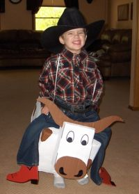 Howdy to Homemade Costumes!  3 Boys and a Dog