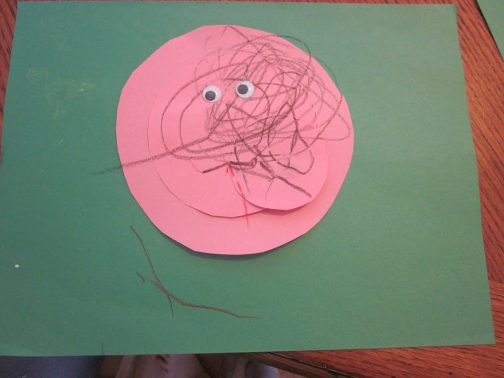 Fun Three Little Pigs Craft About Circles 3 Boys And A Dog