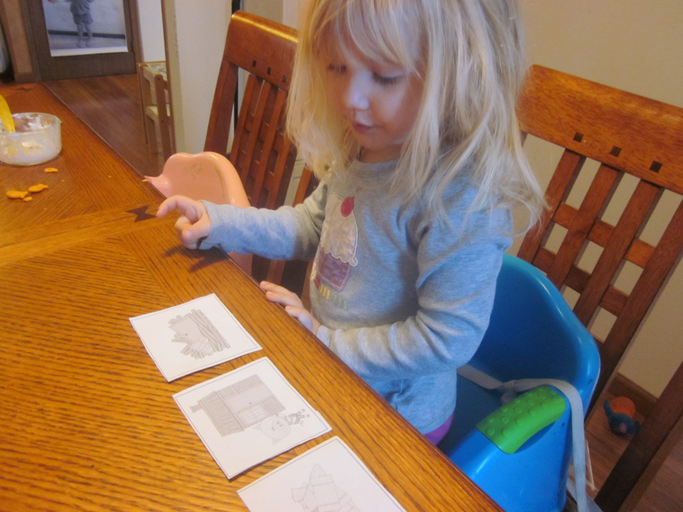 Three Little Pigs Sequencing Printable Story Cards 3 Boys And A Dog