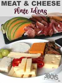Meat and Cheese Plate Ideas  3 Boys and a Dog  3 Boys ...
