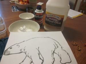 P is for Polar Bear (Preschool Homeschool)