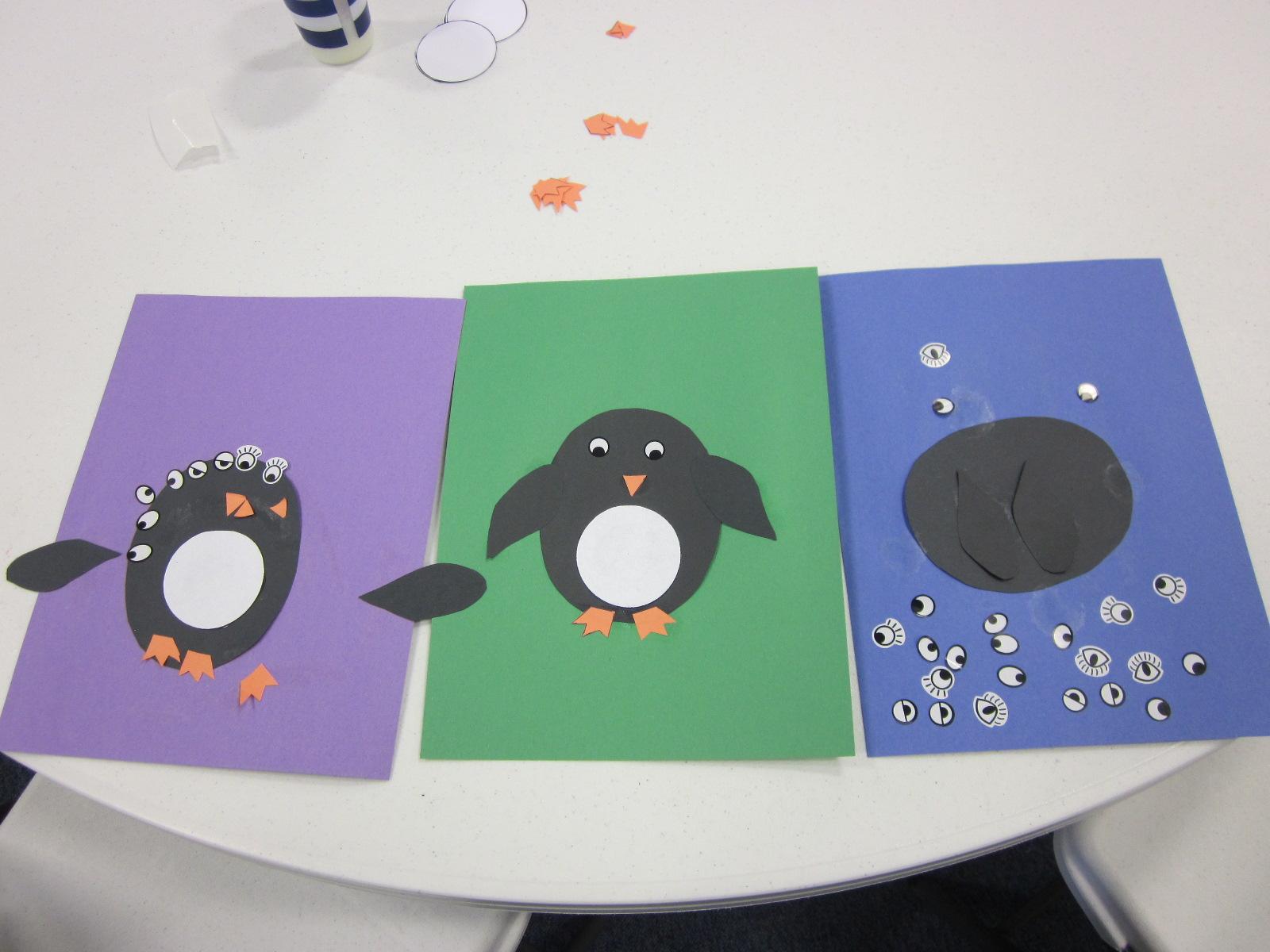 Preschool Alphabet Activities P Is For Penguin Winter