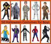 50 Halloween Costumes For Boys  3 Boys and a Dog