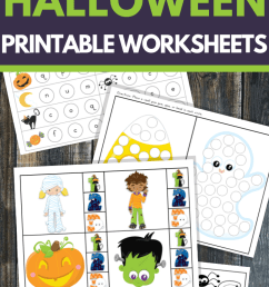 Halloween Math and Literacy Worksheets for K-2 – 3 Boys and a Dog [ 1200 x 700 Pixel ]