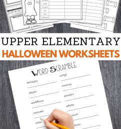 Halloween Worksheets for Upper Elementary – 3 Boys and a Dog [ 1200 x 700 Pixel ]