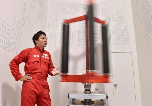Turbinas eólicas para tifones