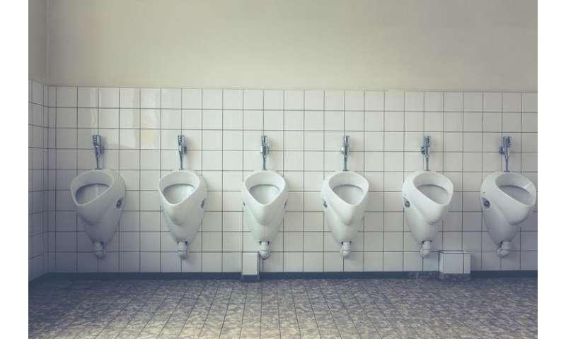 Riesci a prendere germi da un sedile del water pubblico?