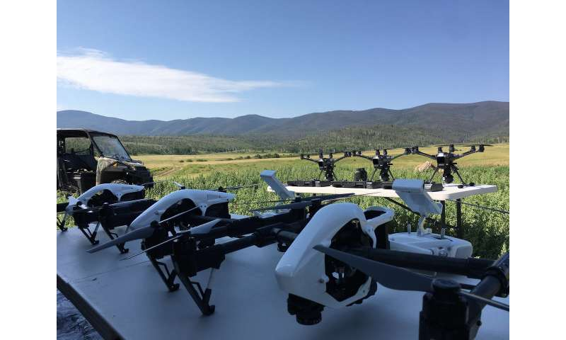 Drone forensics gets a boost with new data on NIST website