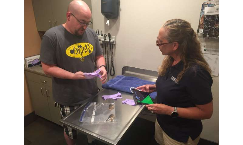 MakerLab becoming a hub of 3-D printed shell implants for injured pets