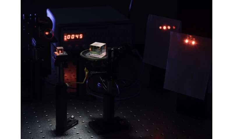 Un interferómetro más simple puede sintonizar incluso los pulsos de luz más rápidos