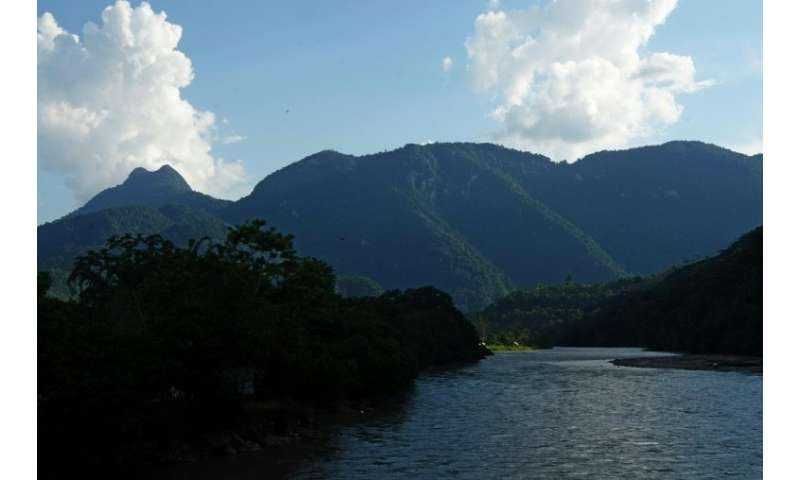 The Tingo Maria National Park in the central Amazonian forest of Peru