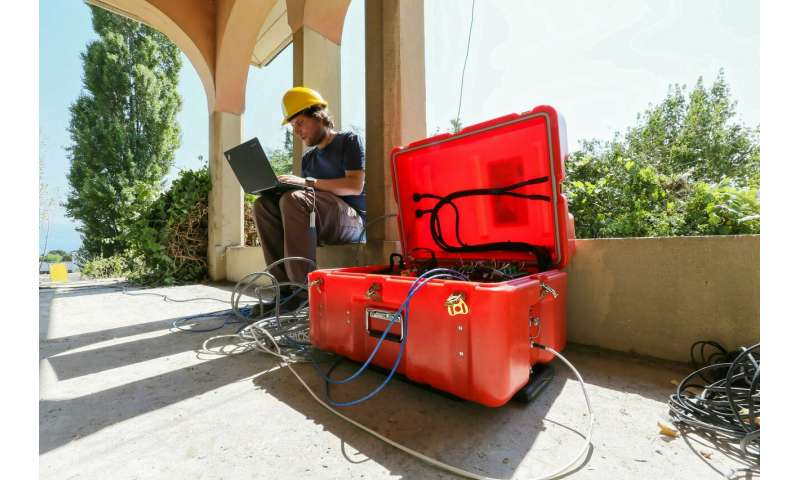 New method to determine how safe buildings are after an earthquake