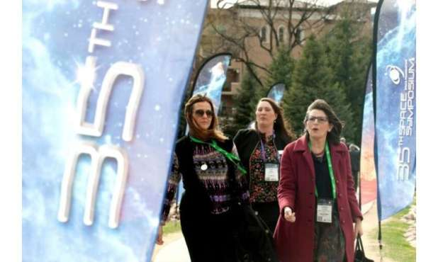 The 35th Space Symposium in Colorado Springs has attracted some 15,000 attendees