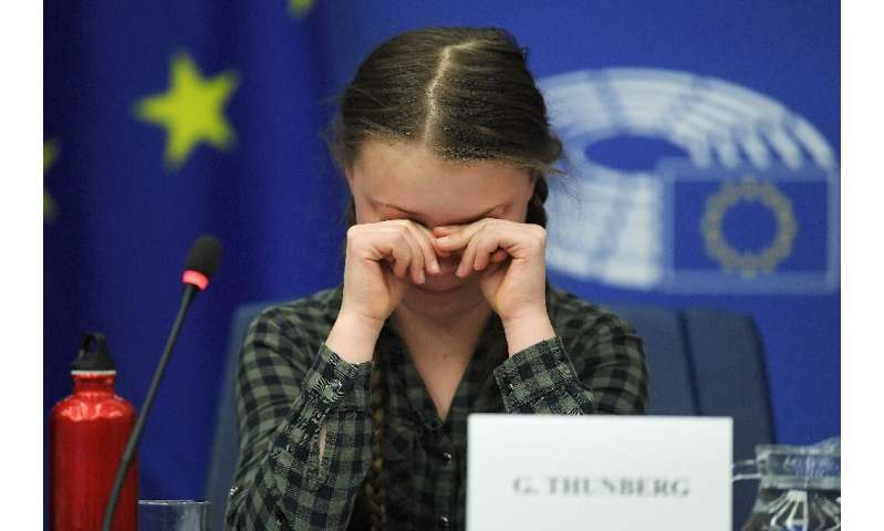 """The 16-year-old climate activist Greta Thunberg has warned politicians in Brussels they will be """"remembered as the greatest"""