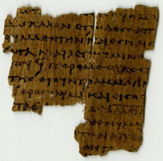 Image result for Ancient Greek fragment of will