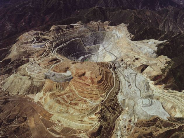 Bingham Canyon in Utah (USA) Copper mine