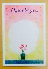 パステルアート,母の日,メッセージカード
