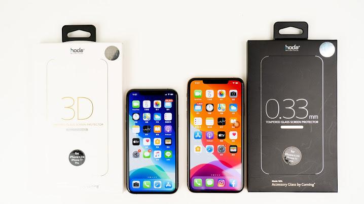 【開箱上手】真的需要為 iPhone 11 貼保護貼、裝保護殼嗎?|hoda 2.5D/3D 隱形滿版玻璃保護貼、hoda 柔石軍規防摔保護殼|科技狗