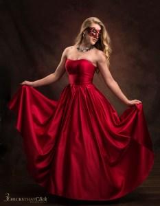 Jolie - Mardi Gras ballgown