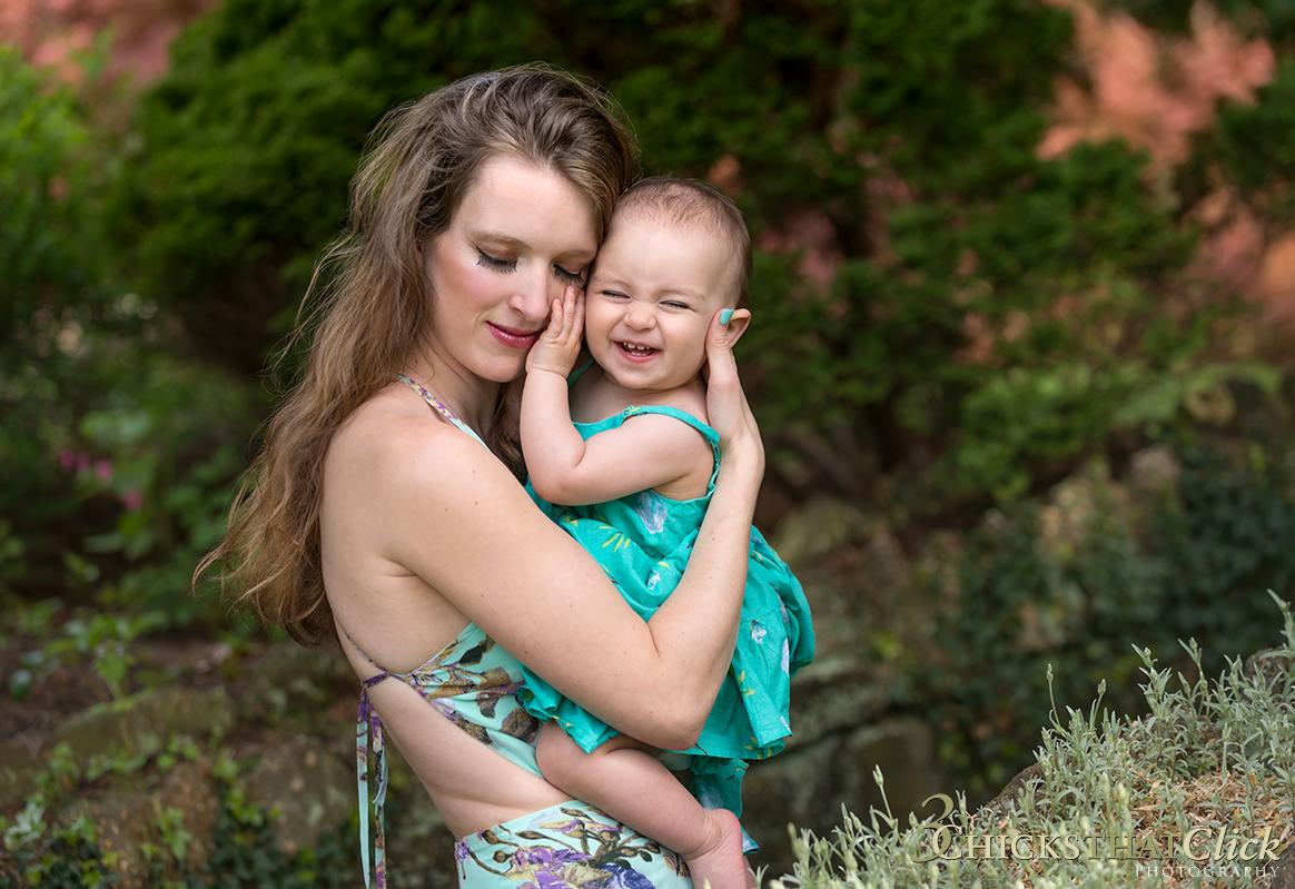 Mother and Daughter, Deep Cut Gardens