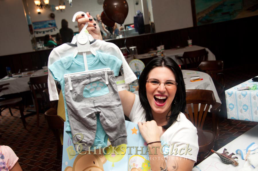 Photo of a baby shower