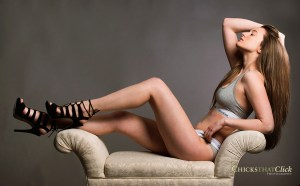 Teenage model Jess Solan