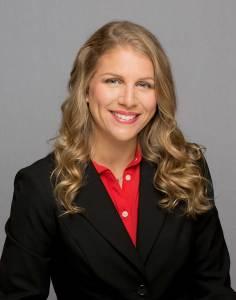 Businesswoman, healthcare consultant, female in suit, blond businesswoman
