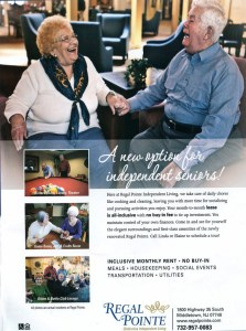 Regal Pointe Independent Living, Journal Feature
