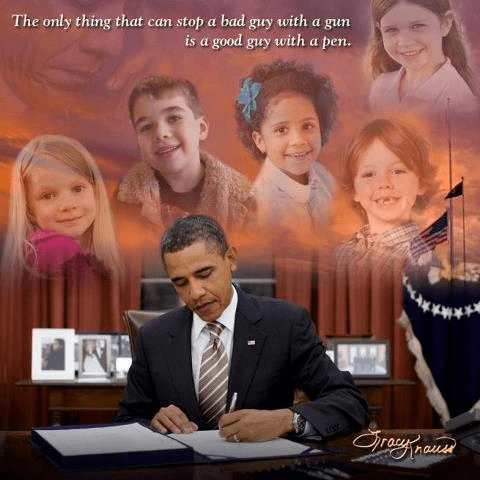 A good guy with a pen