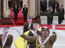 Potus arrives in Jordan22