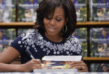 Michelle Obama book signing26