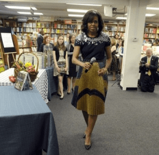 Michelle Obama book signing6