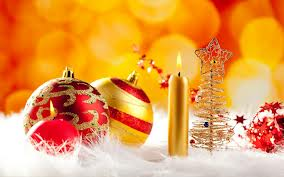 Christmas Candles 48
