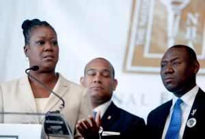 Parents Of Trayvon Martin Hold Press Conf. On Inequality Of US Justice System