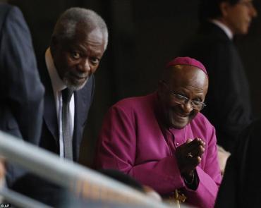Desmond Tutu and Kofi Annan