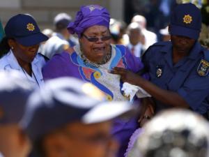 Mandela Lies In State45