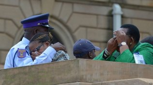 Mandela Lies In State53