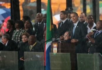 Memorial Service For Nelson Mandela 6