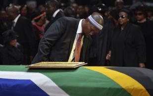 State funeral for nelson mandela73