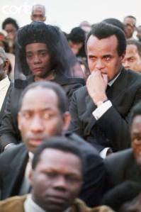 Dr King- Coretta at the funeral