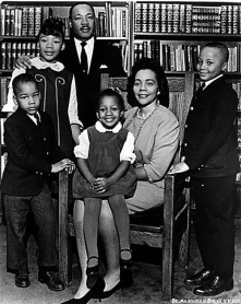Dr King Family- last official photo