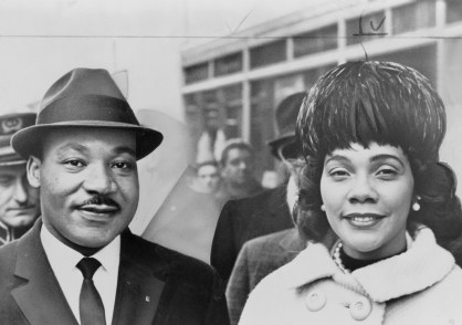 Dr King- Martin Luther King and Coretta