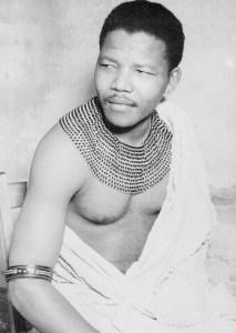 Nelson Mandela tribal dress